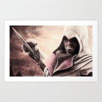 Ezio Auditore From Assas… Art Print
