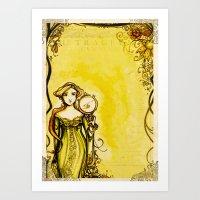 Cymbeline - Shakespeare Folio Illustration Art Print