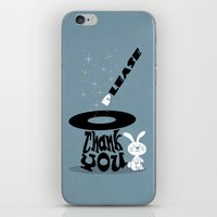 Magic Words iPhone & iPod Skin
