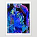 Cry On My Shoulder Art Print