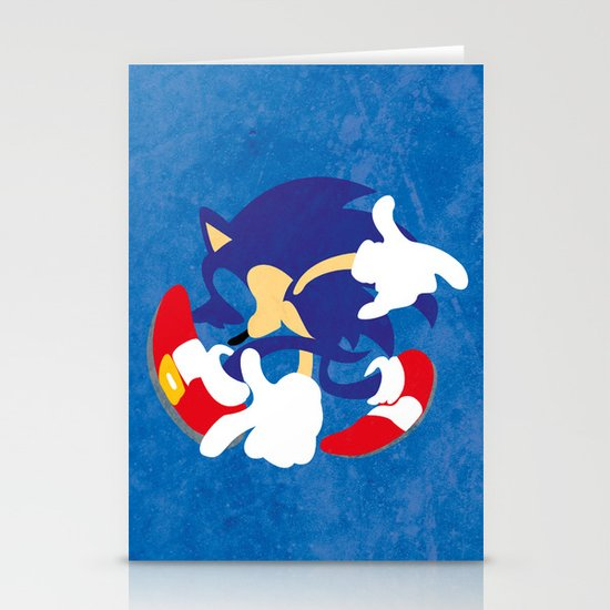 Sonic Stationery Card
