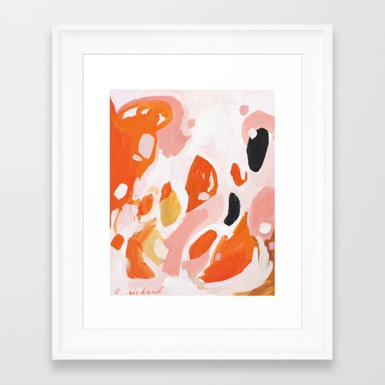 Color Study No. 4 Framed Art Print
