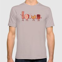 Meat Love U Mens Fitted Tee Cinder SMALL
