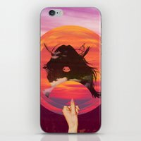 Set My Sun iPhone & iPod Skin