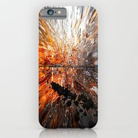 iPhone & iPod Case featuring Abstract sunset by Lo Coco Agostino