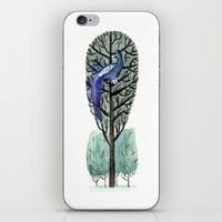 Peacock in a Tree iPhone & iPod Skin