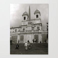 The Spanish Steps Canvas Print