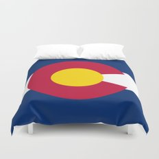 Colorado State Flag - Authentic version Duvet Cover