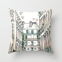City Love Throw Pillow