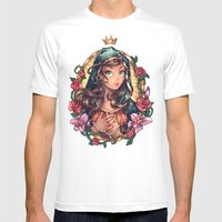 Our Lady of Guadalupe Mens Fitted Tee White SMALL
