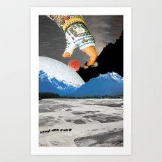 Moon snatcher Art Print
