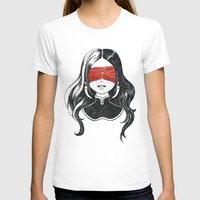 See not Womens Fitted Tee White SMALL