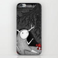The Animal I am iPhone & iPod Skin