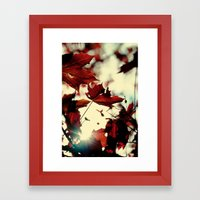 Autumn Leafs Framed Art Print