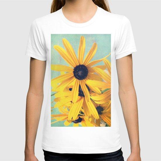 Sweet Yellow Flowers T-shirt