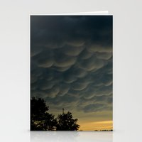 Strange Sky Stationery Cards