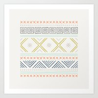 Into The West - In Mixed… Art Print