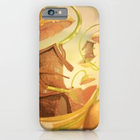 iPhone & iPod Case featuring There Once Was A House by Monty
