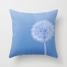 Tranquil Dandelion Throw Pillow