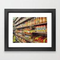 Hot Hot Sauce Framed Art Print