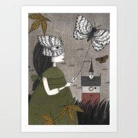 Oda (An All Hallows' Eve… Art Print