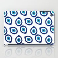 Evil Eye Teardrop iPad Case