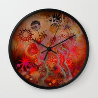 bewitched place Wall Clock