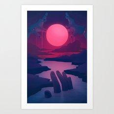 Here Comes the Flood Art Print