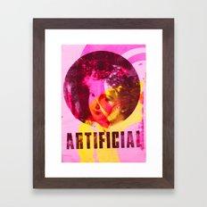 Artificial Single Framed Art Print