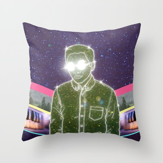 """Anything in Return"" by Tim Lukowiak Throw Pillow"