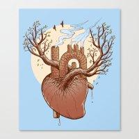 Always In My Heart Canvas Print