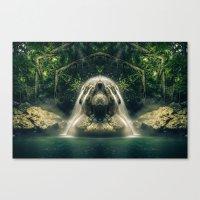 Kaleidoscape: Finca Paraíso Canvas Print
