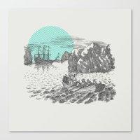 Pirates Canvas Print