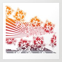 Hawaii Five-O Light Art Print