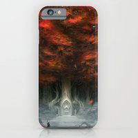 iPhone Cases featuring Tree of Duality by Joel Hustak