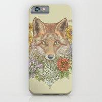 iPhone & iPod Case featuring Fox Garden by Rachel Caldwell