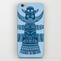 Totem tear - blue iPhone & iPod Skin