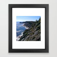 Monhegan Island Framed Art Print