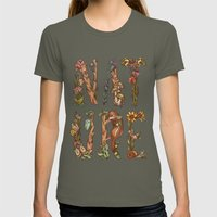 Nature Womens Fitted Tee Lieutenant SMALL