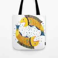 swimming circle Tote Bag
