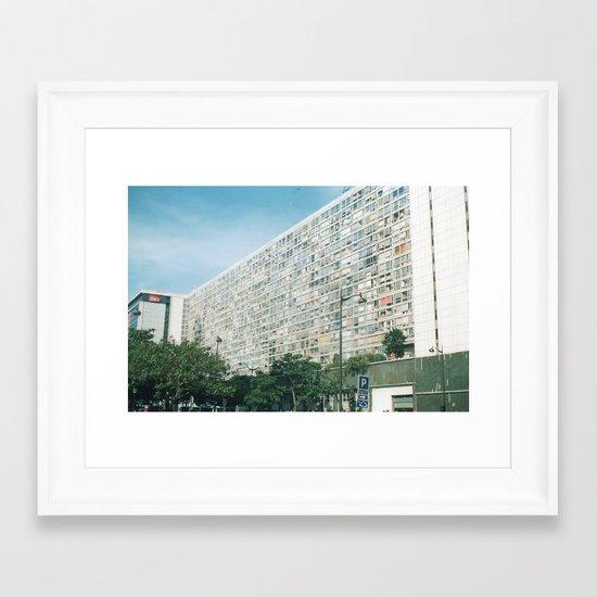 In Paris 1 Framed Art Print