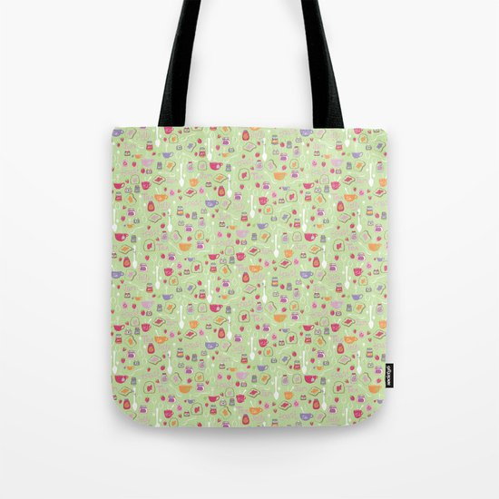 Tea & Toast Tote Bag