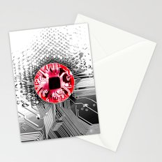 circuit board Japan (Flag) Stationery Cards
