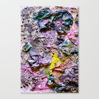 Yellowing Canvas Print
