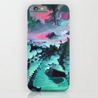 Mint Octopus iPhone 6 Slim Case