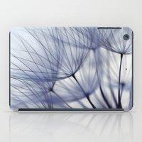 Dandelion In Blue No.2 iPad Case