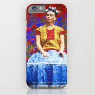 iPhone & iPod Case featuring FRIDA Dreaming Away by UtArt