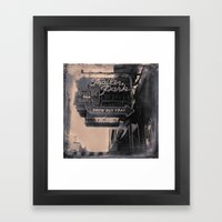 Trailer Park Lounge Framed Art Print
