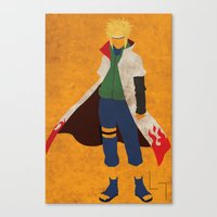 Fourth Hokage Canvas Print