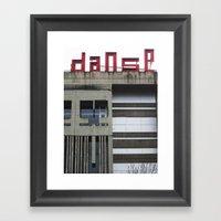 Danse Framed Art Print